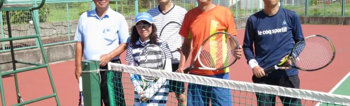 第2回テニス会(7/15 市川クリースパ・テニスコート)【実施報告】