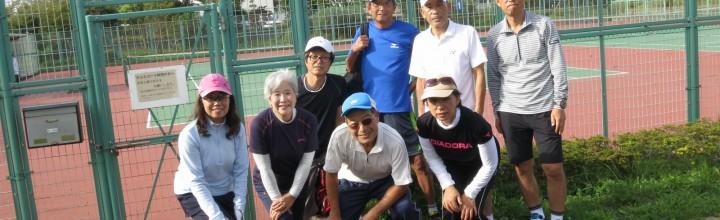 9月月例テニス会(9/30 市川市クリーンスパ・テニスコート)【実施報告】