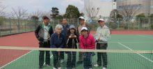 3月テニス月例会 【実施報告】